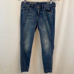 Madewell Skinny Skinny Ankle Denim Jeans Sz 28